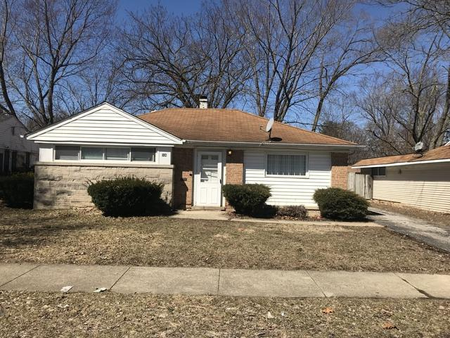 306 Shabbona Drive, Park Forest, IL 60466 (MLS #10318249) :: Baz Realty Network | Keller Williams Preferred Realty