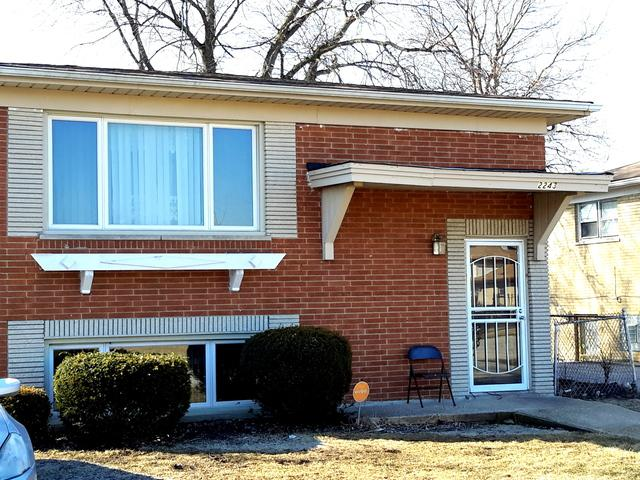 2243 W 157th Street, Markham, IL 60426 (MLS #10319468) :: Century 21 Affiliated