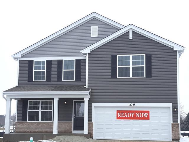 109 Linden Drive, Oswego, IL 60543 (MLS #10322308) :: Helen Oliveri Real Estate