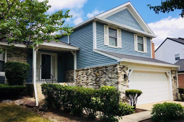 314 Chateau Drive, Buffalo Grove, IL 60089 (MLS #10322749) :: The Perotti Group | Compass Real Estate