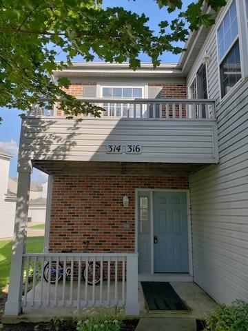 316 Ogden Falls Boulevard #316, Oswego, IL 60543 (MLS #10323637) :: The Wexler Group at Keller Williams Preferred Realty