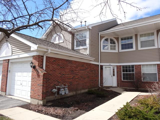654 W Happfield Drive 1919C, Arlington Heights, IL 60004 (MLS #10330968) :: Property Consultants Realty