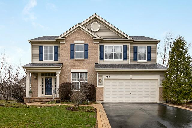 759 Glenside Circle, Bolingbrook, IL 60490 (MLS #10333693) :: Helen Oliveri Real Estate
