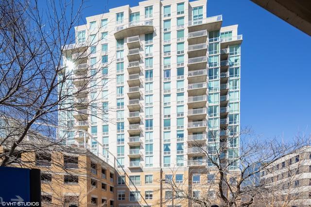 1640 Maple Avenue #705, Evanston, IL 60201 (MLS #10336317) :: Century 21 Affiliated