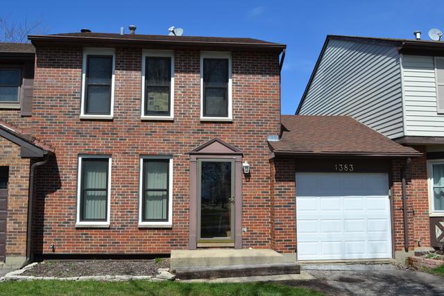 1383 Georgetown Drive, Carol Stream, IL 60188 (MLS #10336957) :: Leigh Marcus | @properties