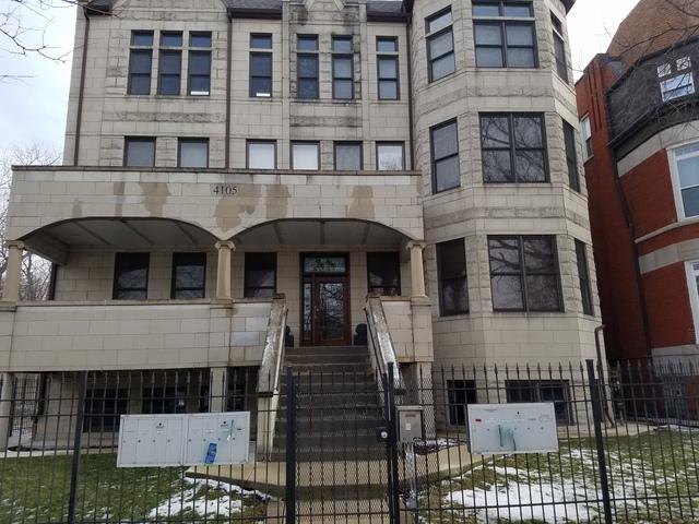 4105 S Drexel Boulevard 1NR, Chicago, IL 60653 (MLS #10339470) :: Property Consultants Realty