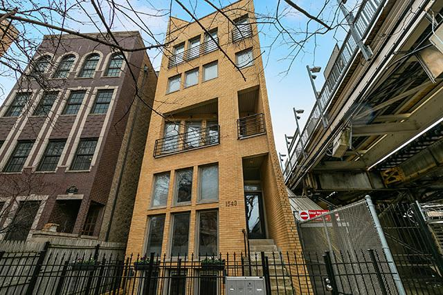 1543 N Hudson Avenue #1, Chicago, IL 60610 (MLS #10341478) :: The Perotti Group | Compass Real Estate