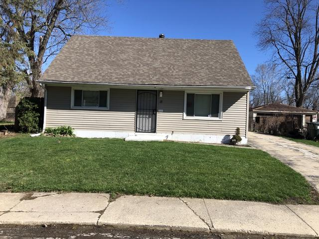 12 Apache Street, Park Forest, IL 60466 (MLS #10342027) :: Leigh Marcus | @properties