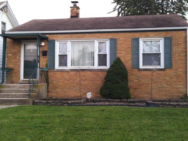 34 W 23rd Street, Chicago Heights, IL 60411 (MLS #10342408) :: Helen Oliveri Real Estate