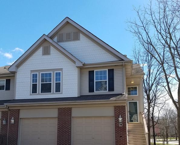 54 Samuel Drive 13-4, Streamwood, IL 60107 (MLS #10343362) :: Helen Oliveri Real Estate