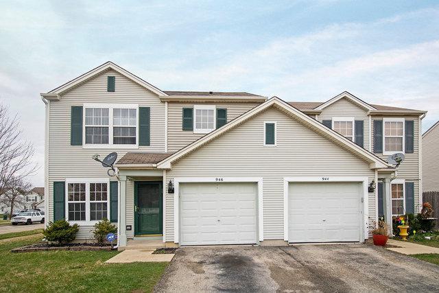 946 E Savannah Drive, Romeoville, IL 60446 (MLS #10343964) :: Angela Walker Homes Real Estate Group