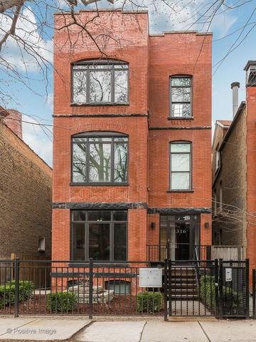 1316 N Oakley Boulevard #2, Chicago, IL 60622 (MLS #10344127) :: Property Consultants Realty