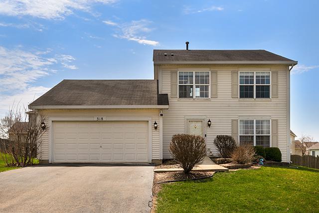 318 Deering Lane, Bolingbrook, IL 60440 (MLS #10344148) :: The Wexler Group at Keller Williams Preferred Realty