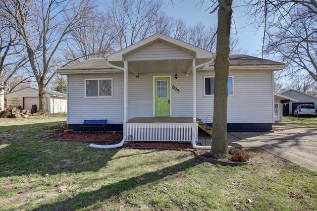 805 W Bristow Street, MONTICELLO, IL 61856 (MLS #10344529) :: Ryan Dallas Real Estate