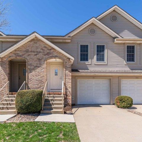 417 Park Creek Court #417, Normal, IL 61761 (MLS #10345892) :: Berkshire Hathaway HomeServices Snyder Real Estate