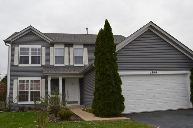 1309 Marigold Lane, Minooka, IL 60447 (MLS #10345893) :: Domain Realty