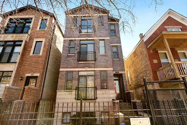 2739 W Thomas Street #3, Chicago, IL 60622 (MLS #10346233) :: The Perotti Group | Compass Real Estate