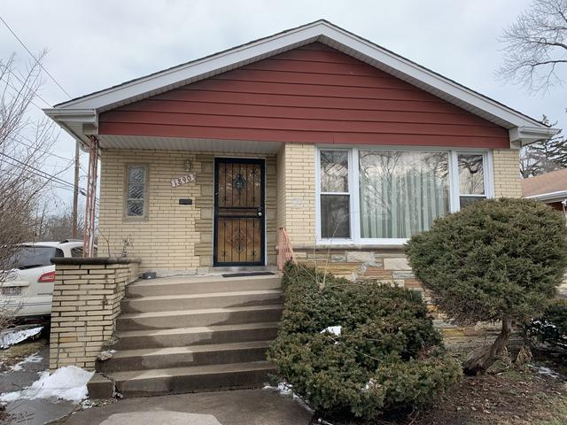 1890 W 108th Place, Chicago, IL 60643 (MLS #10346320) :: Helen Oliveri Real Estate