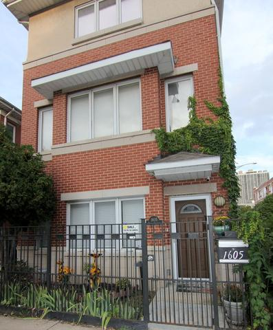 1605 N Sedgwick Street, Chicago, IL 60614 (MLS #10346670) :: The Perotti Group | Compass Real Estate