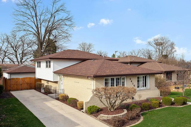 5416 128th Place, Crestwood, IL 60418 (MLS #10346995) :: Domain Realty