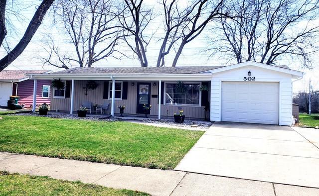 502 Princeton Drive, North Aurora, IL 60542 (MLS #10347554) :: Century 21 Affiliated