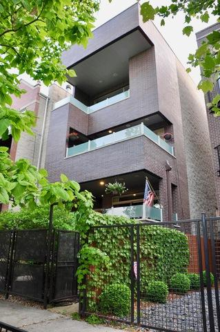 1718 N Talman Avenue #2, Chicago, IL 60647 (MLS #10348122) :: The Perotti Group | Compass Real Estate