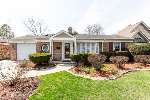 418 N Dryden Place, Arlington Heights, IL 60004 (MLS #10348203) :: Century 21 Affiliated