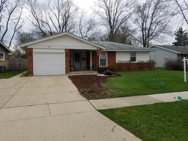 507 Ridgewood Road, Elk Grove Village, IL 60007 (MLS #10348373) :: Leigh Marcus | @properties