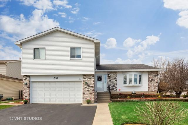 651 Hiawatha Drive, Carol Stream, IL 60188 (MLS #10348494) :: Century 21 Affiliated