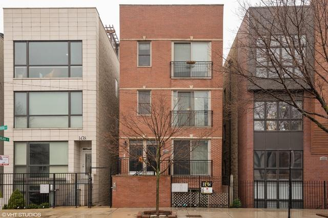 1440 N Wood Street 3R, Chicago, IL 60622 (MLS #10348878) :: Leigh Marcus | @properties