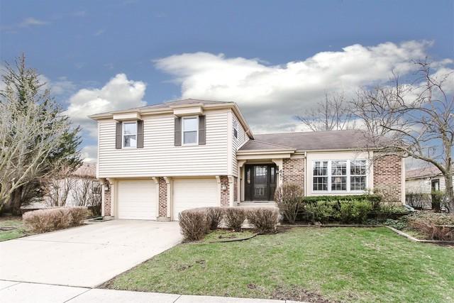 45 Wakefield Lane, Buffalo Grove, IL 60089 (MLS #10348966) :: Helen Oliveri Real Estate