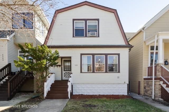 5245 W Carmen Avenue, Chicago, IL 60630 (MLS #10349201) :: Domain Realty