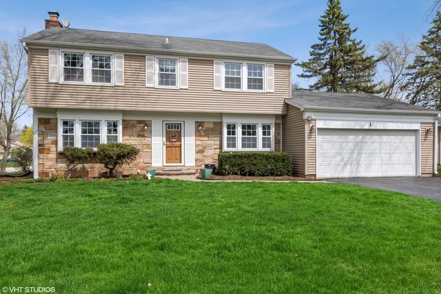1 Springside Court, Buffalo Grove, IL 60089 (MLS #10349683) :: Helen Oliveri Real Estate