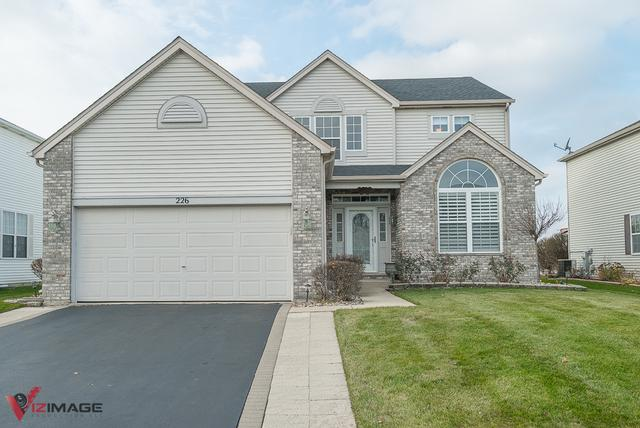 226 Violet Drive, Romeoville, IL 60446 (MLS #10351228) :: Berkshire Hathaway HomeServices Snyder Real Estate