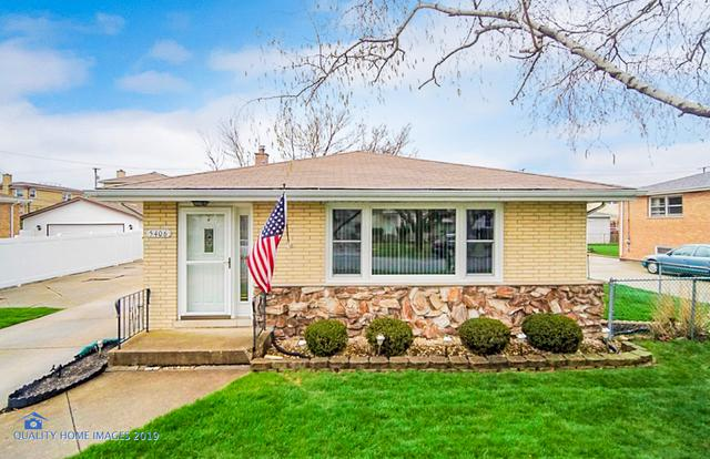 5406 Avery Place, Oak Lawn, IL 60453 (MLS #10351873) :: Ryan Dallas Real Estate