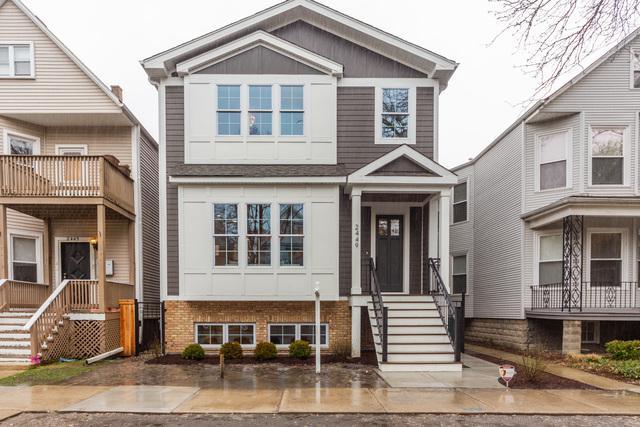 2449 W Warner Avenue, Chicago, IL 60618 (MLS #10352147) :: Berkshire Hathaway HomeServices Snyder Real Estate