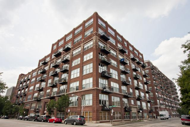 1500 W Monroe Avenue #514, Chicago, IL 60607 (MLS #10352155) :: John Lyons Real Estate