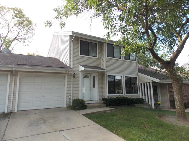 1643 E Rainbow Bay Lane #2, Palatine, IL 60074 (MLS #10352282) :: Helen Oliveri Real Estate