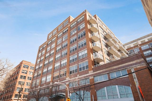 933 W Van Buren Street #522, Chicago, IL 60607 (MLS #10352400) :: John Lyons Real Estate