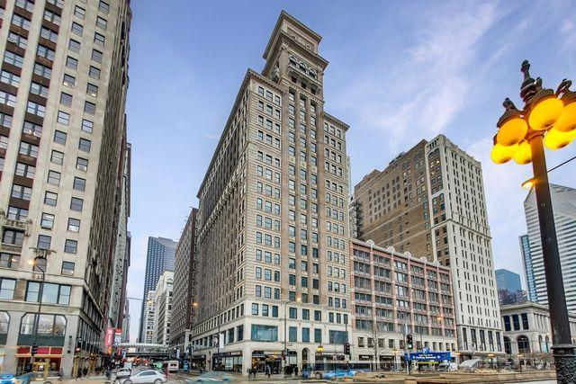 6 N Michigan Avenue #806, Chicago, IL 60602 (MLS #10355444) :: Leigh Marcus | @properties
