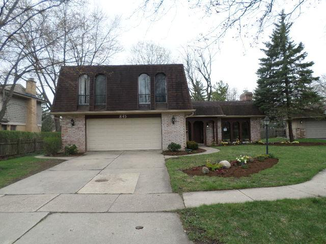 845 Deere Park Court, Deerfield, IL 60015 (MLS #10356142) :: The Spaniak Team