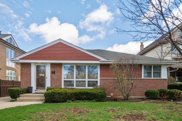 417 N Rose Avenue, Park Ridge, IL 60068 (MLS #10356210) :: Helen Oliveri Real Estate