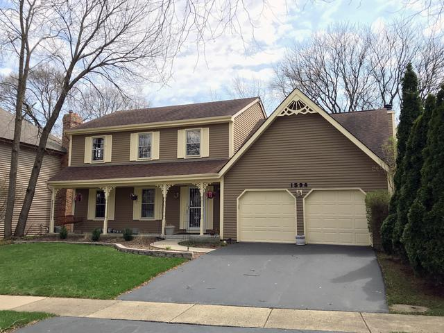 1594 Derby Court, Naperville, IL 60563 (MLS #10356228) :: Helen Oliveri Real Estate
