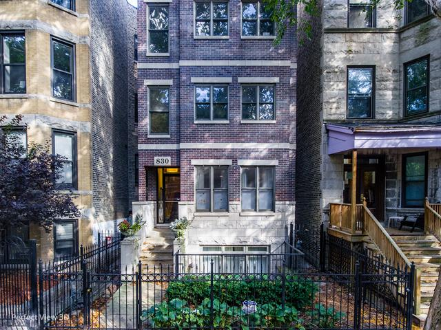 830 W Roscoe Street #4, Chicago, IL 60657 (MLS #10356594) :: Leigh Marcus | @properties