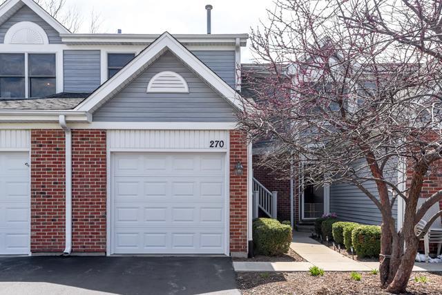 270 Eclipse Drive #270, Carol Stream, IL 60188 (MLS #10356611) :: Leigh Marcus | @properties
