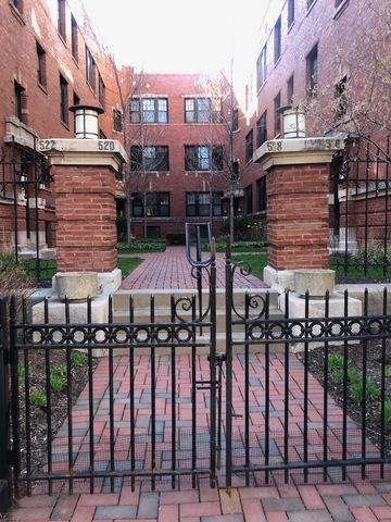 518 W Wrightwood Avenue 1E, Chicago, IL 60614 (MLS #10356993) :: Ryan Dallas Real Estate