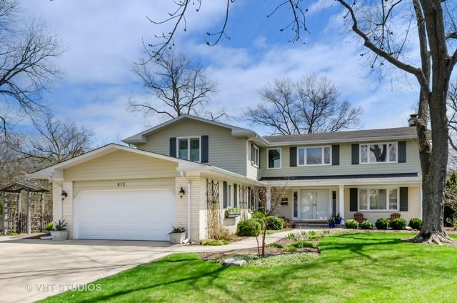 815 Deere Park Court, Deerfield, IL 60015 (MLS #10357035) :: The Spaniak Team