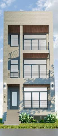 1214 W Hubbard Street #1, Chicago, IL 60642 (MLS #10357075) :: Ryan Dallas Real Estate