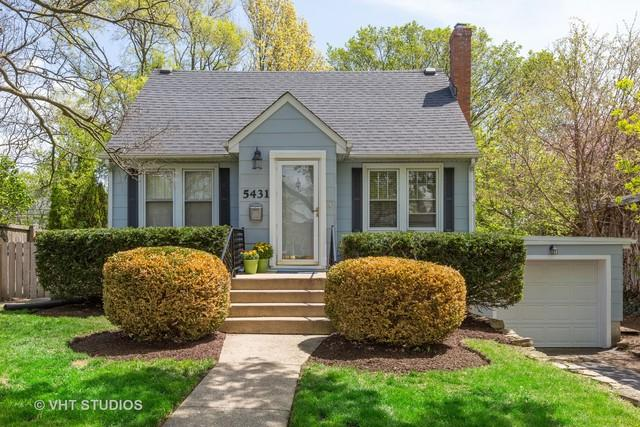 5431 Park Avenue, Downers Grove, IL 60515 (MLS #10357344) :: Property Consultants Realty