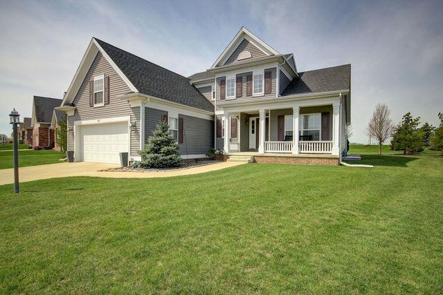 1417 Stonecrest Drive, Mahomet, IL 61853 (MLS #10357453) :: Ryan Dallas Real Estate